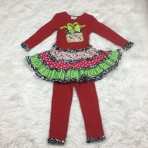 Emily Rose 2pc Outfit Size 5 Top Leggings